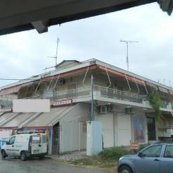 Gewerbegebäude neben den Sandstrand in Chalkidike Moudania mit 700 qm