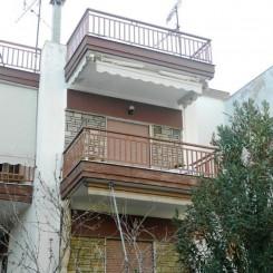 Wohnung mit 38 qm auf der erste Etage in Nea Flogita Chalkidike