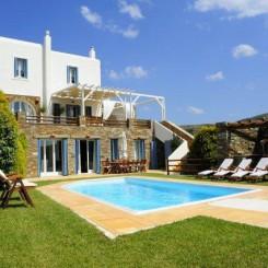 Kuxus Villa zu Vermieten auf der Insel Andros