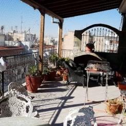 Wunderschöne Etagenwohnung mit 147,70 qm und 85,40 qm Terrasse in Thessaloniki Zentrum
