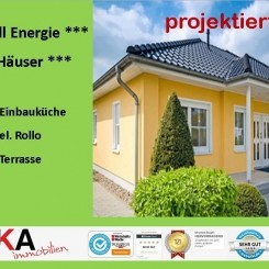 ***NULL-ENERGIE-HAUS ***, inkl. Küche, el. Rollo, Terrasse***