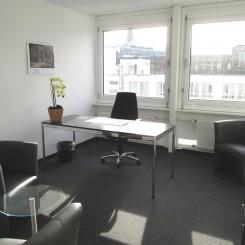 Provisionsfrei: Büros mit Fullservice ab 21qm Nähe Hauptbahnhof und Alster