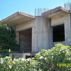 Westkreta, Griechenland, Rohbau