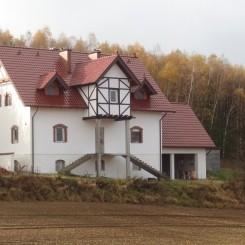 Großes Haus in ruhiger Lage Polen nahe der Autobahn
