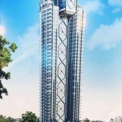 40-stöckiger Luxus Wohntower am höchsten Punkt von Pattaya, Pratumnak Hill