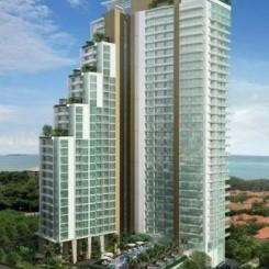 Exquisite Apartments, von 30 - 100 qm auf 29 Stockwerken, Infinity Dachpool mit Panorama - Meeresblick