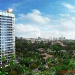 Luxusapartment mit Balkon und Panoramablick am edlen Pratumnak Hill