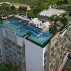Geschmackvolle Apartments in strandnähe Pratumnak Beach, 25 - 56 qm, Rooftop Pool & Sauna