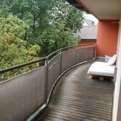 Schöne, ruhige 2-Zimmer Wohnung mit großzügigem (16 m²) Südbalkon im Esbaumviertel in Rosenheim