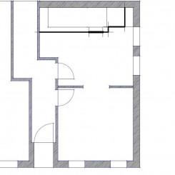 2 verbundene Büroräume mit Miniküche und WC/Dusche