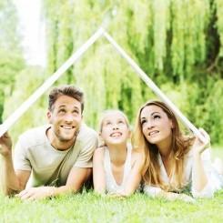 Filet Grundstück mit einem Traum-Haus