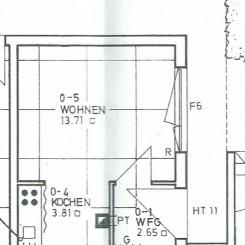 1 Zimmer Apartment Wohnung