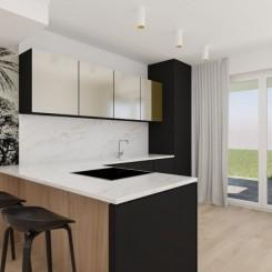Neubau/Malinska/Wohnung von 120m2/Pool/Garten 140m2