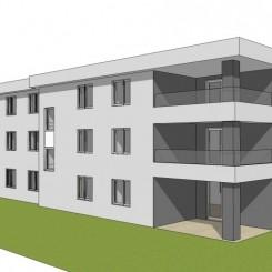 Krk / Malinska - Apartment + Garten 90 m2