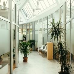 Tolles Büro in kreativer Atmosphäre