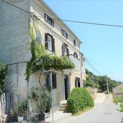 Old Baška, Verkauf, zwei alte Steinhäuser in einer Reihe von 350 m2