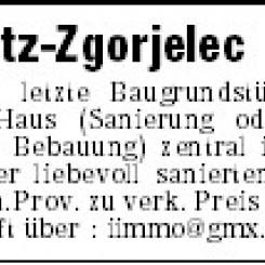 Europastadt Görlitz-Zgorjelec letzte Innenstadt Bauland zu verk.