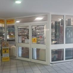 Shisha- und Lottoladen mit Tabakwaren
