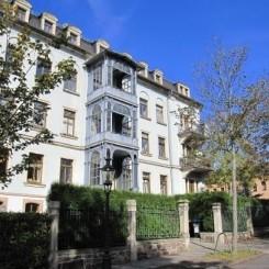 Exklusive 2 Raum Mietwohnung mit Garten - Schloßberg Chemnitz