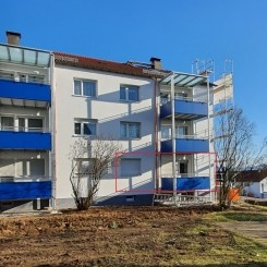 schöne drei Zimmer Wohnung mit Balkon in Reichenbach an der Fils
