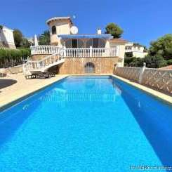 ***Sehr gepflegte Villa in Jávea - Balcón al Mar mit unabhängiger Wohnung, Pool, Grillbereich und einer einzigartigen Garage***