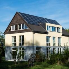 Gesundes Wohnen in hellem hohen Räumen im Grünen in Rheinnähe