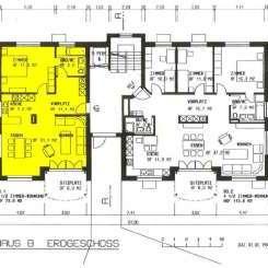 2 ½ Zimmerwohnung mit Gartensitzplatz zu vermieten